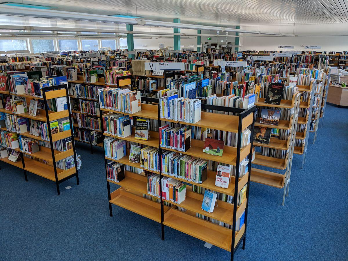Immer noch ganz viele Bücher