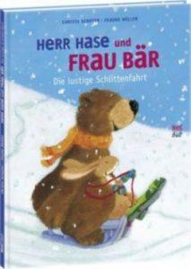 """Bilderbuchkino """"Herr Hase und Frau Bär - die lustige Schlittenfahrt"""" @ Stadtbibliothek Springe"""