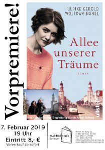 """Gerold/Hänel lesen aus """"Allee unserer Träume"""" @ Stadtbibliothek Springe"""